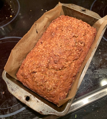 Gluten- and Dairy-free banana bread